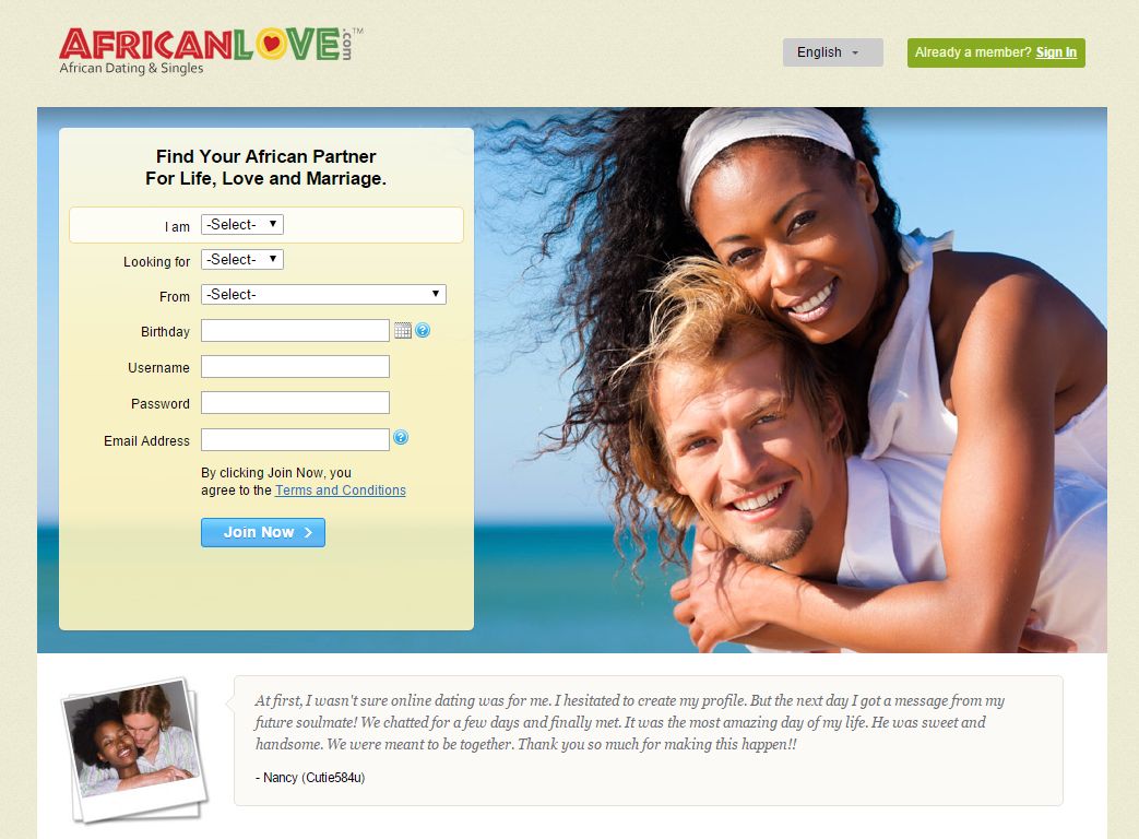 Free nigerian singles dating site