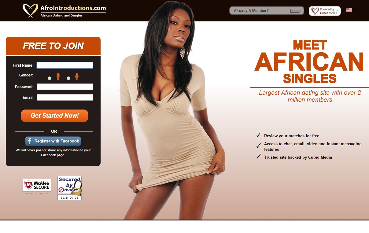 afro african dating site