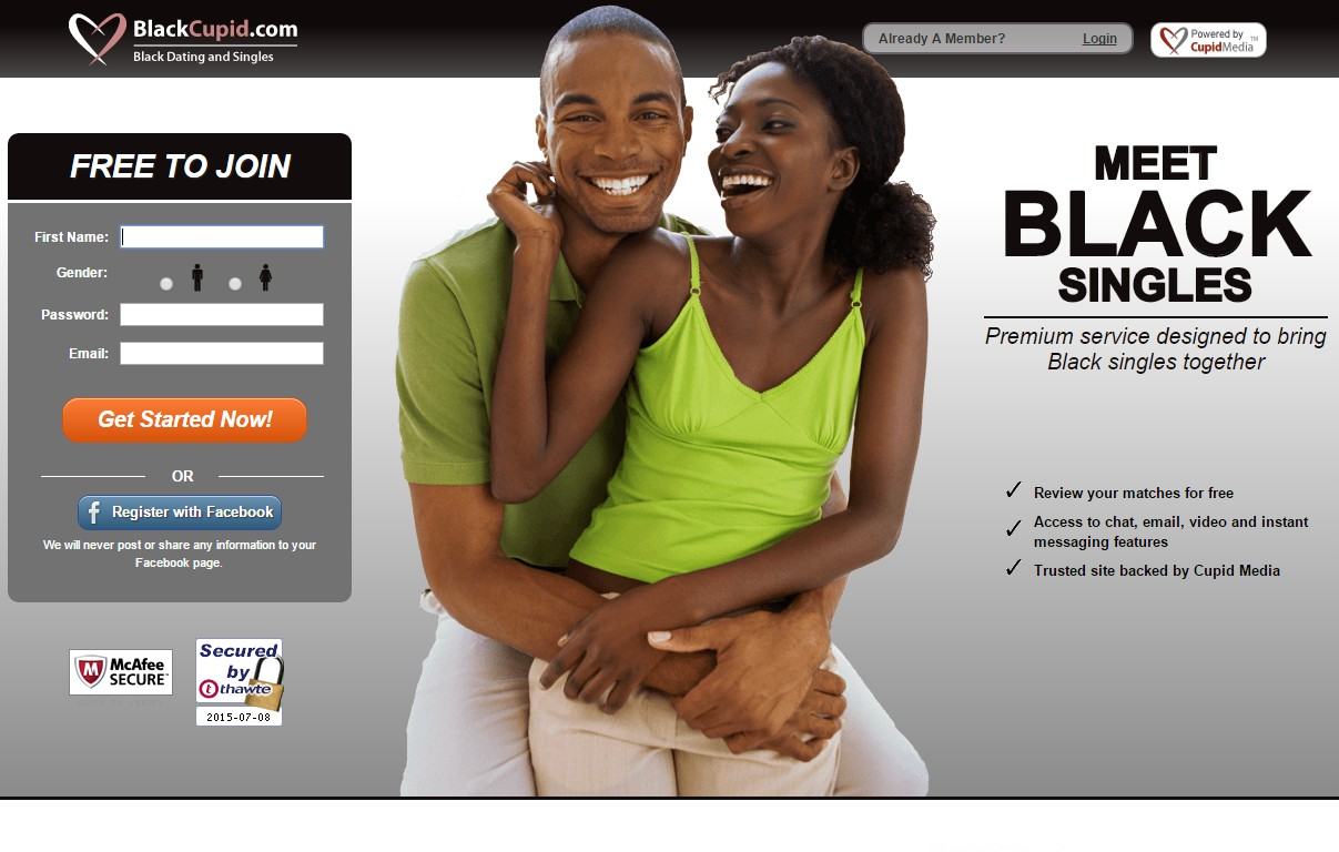 black adult dating site
