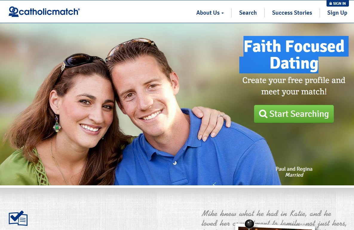 Free dating sites for catholic