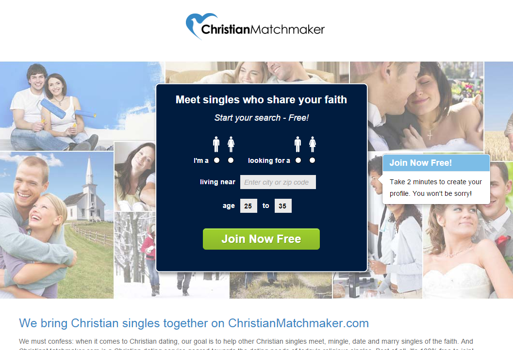 Free online dating services christians