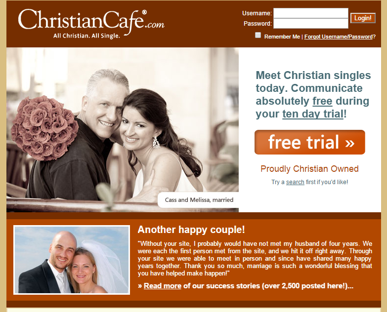 peralta christian women dating site A christian singles network online dating service  and one woman (wife) to the exclusion of all others, as ordained by god  welcome to christiancafecom, a .