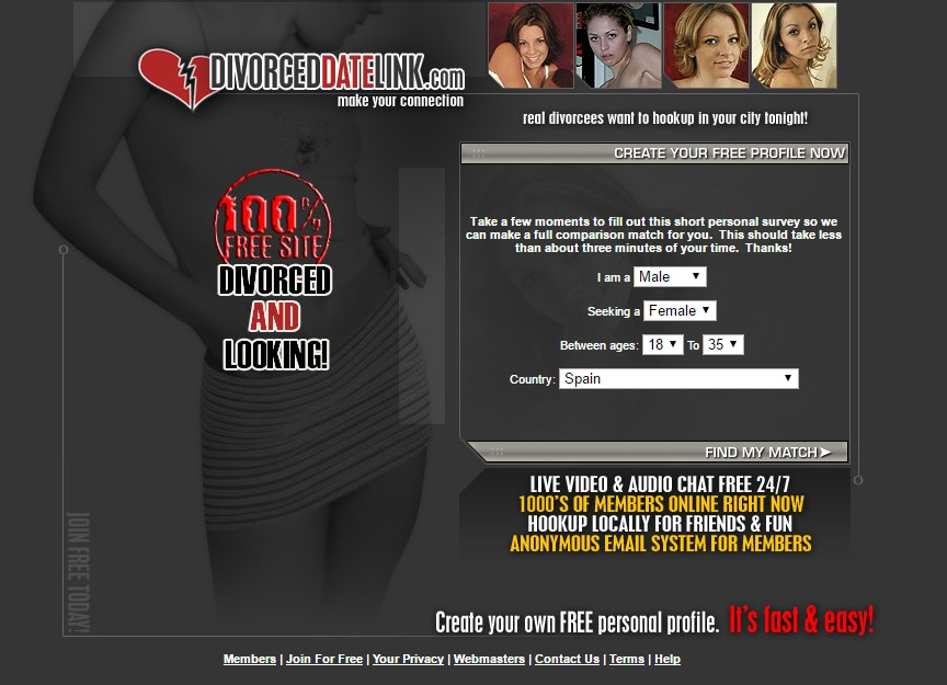 Create your own online hookup site