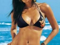 latin woman in bikini