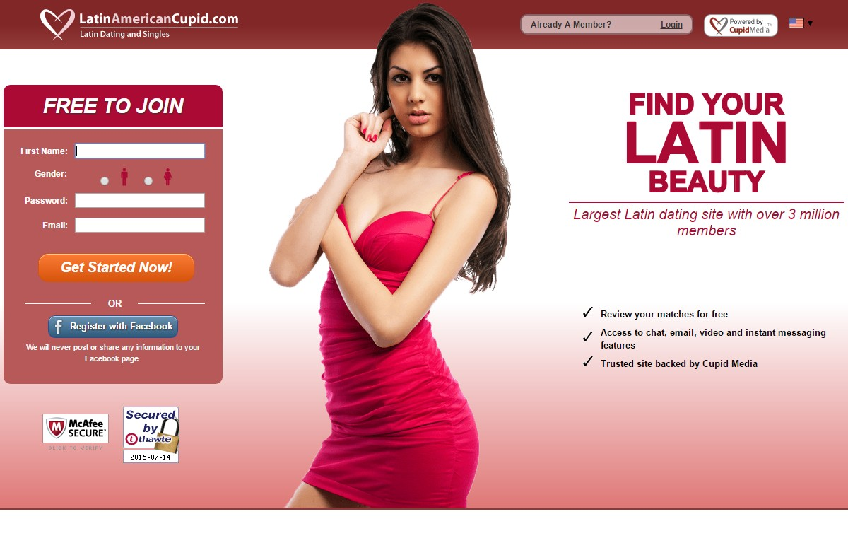 cupid free dating site