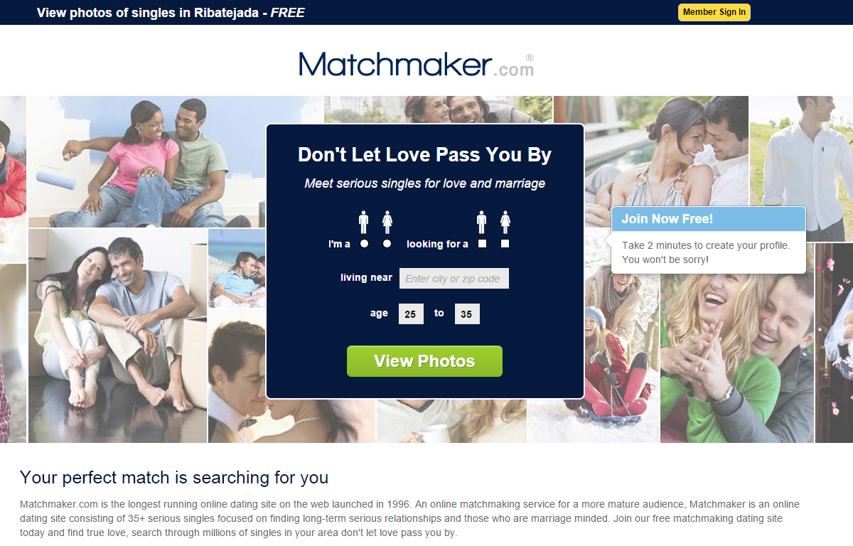 match making websites