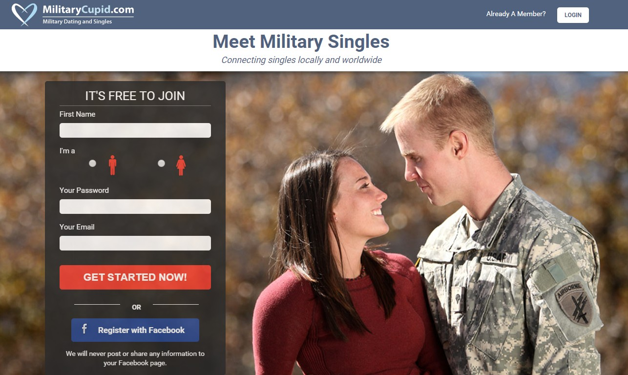 military online dating sites