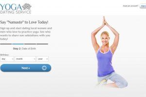 yoga dating service