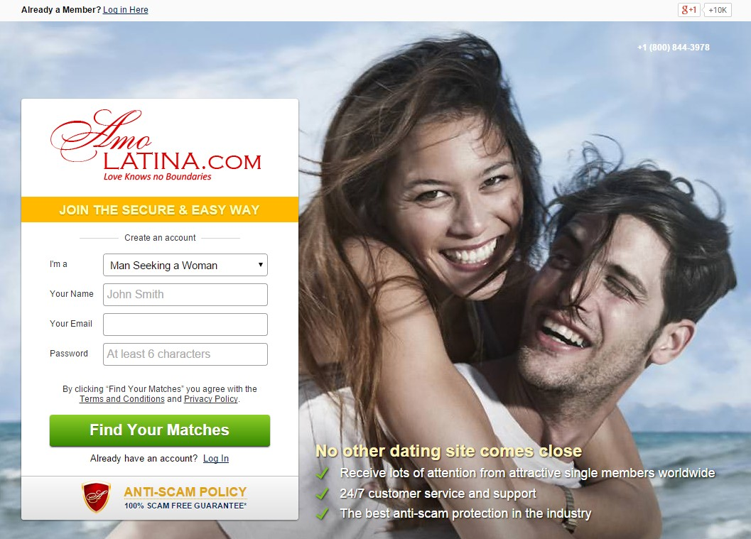Free latina dating sites