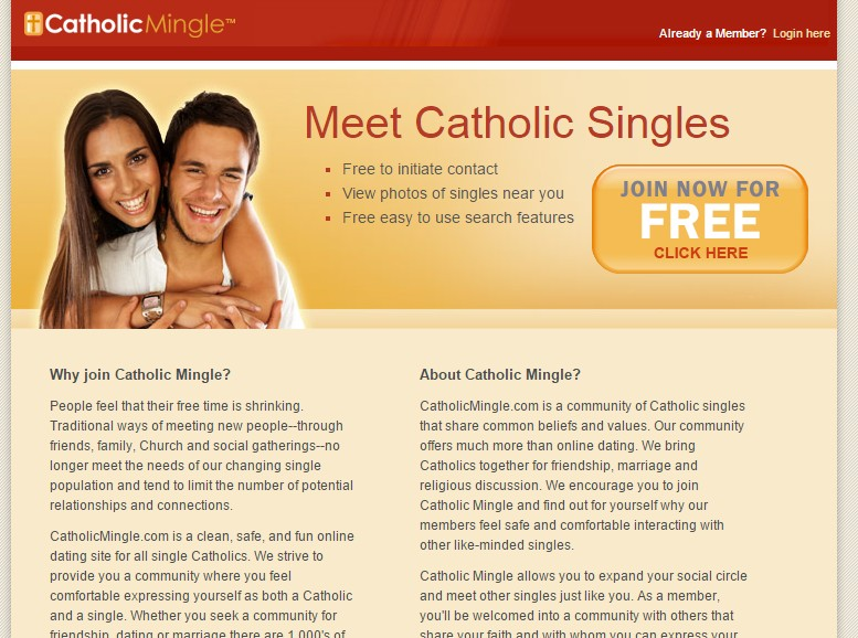 catholic mingle