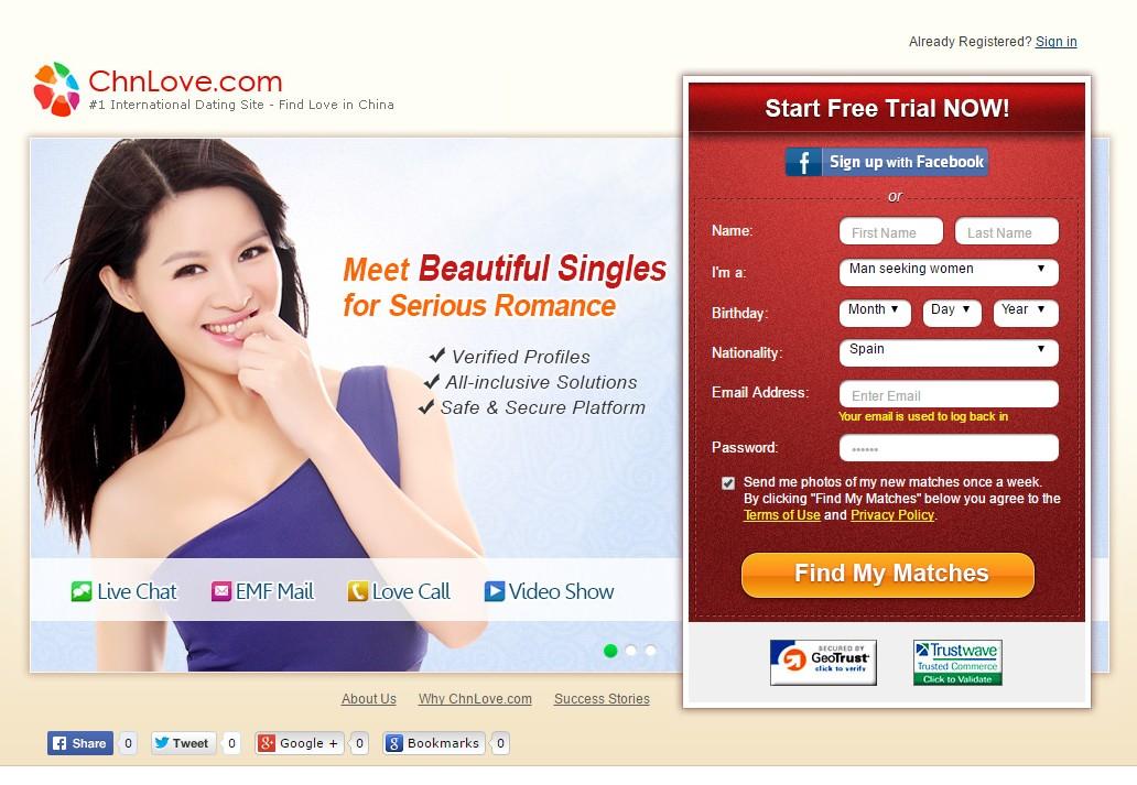 Chinalove dating site