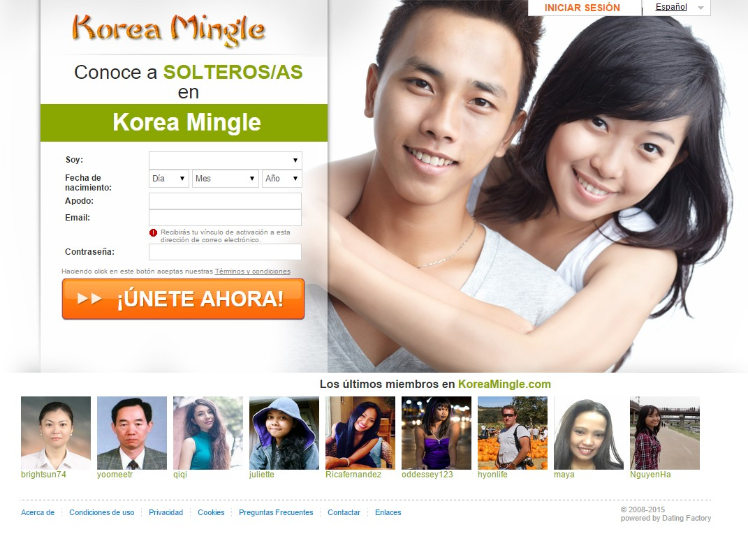 Mingle dating site