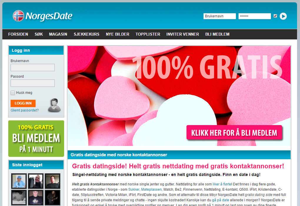 lokale singler gratis datingside