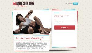 wrestling singles